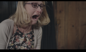 Want to see what has Celeste (Sadie Katz) so terrified?...join us at the premiere of Hybristophilia!